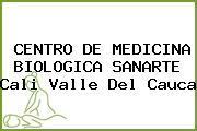 CENTRO DE MEDICINA BIOLOGICA SANARTE Cali Valle Del Cauca