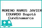 MORENO RAMOS JAVIER EDUARDO Bogotá Cundinamarca