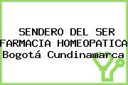 SENDERO DEL SER FARMACIA HOMEOPATICA Bogotá Cundinamarca