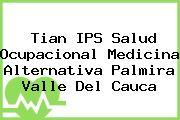 Tian IPS Salud Ocupacional Medicina Alternativa Palmira Valle Del Cauca